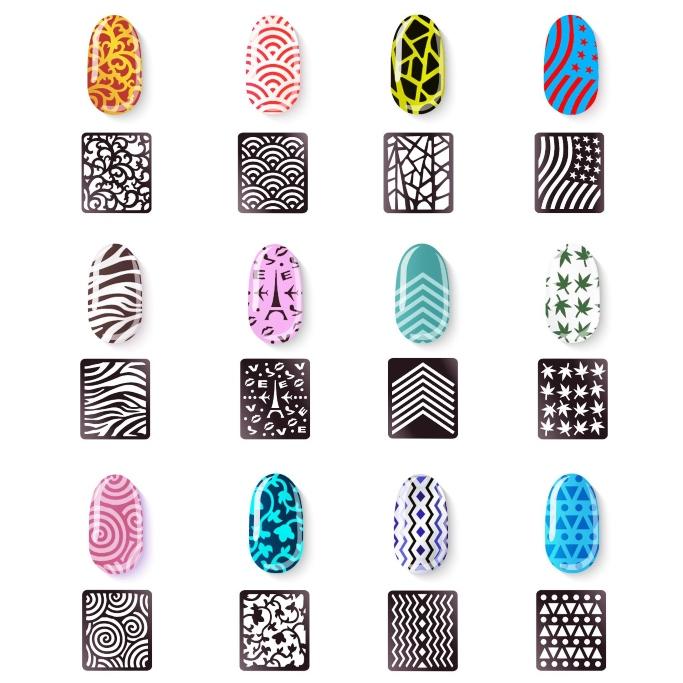 eBoot Nail Stencil Set