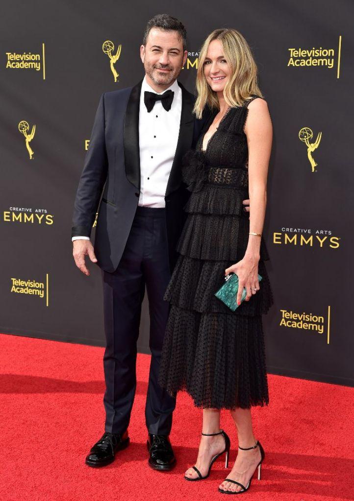 emmy awards, emmys, style, red carpet, jimmy kimmel