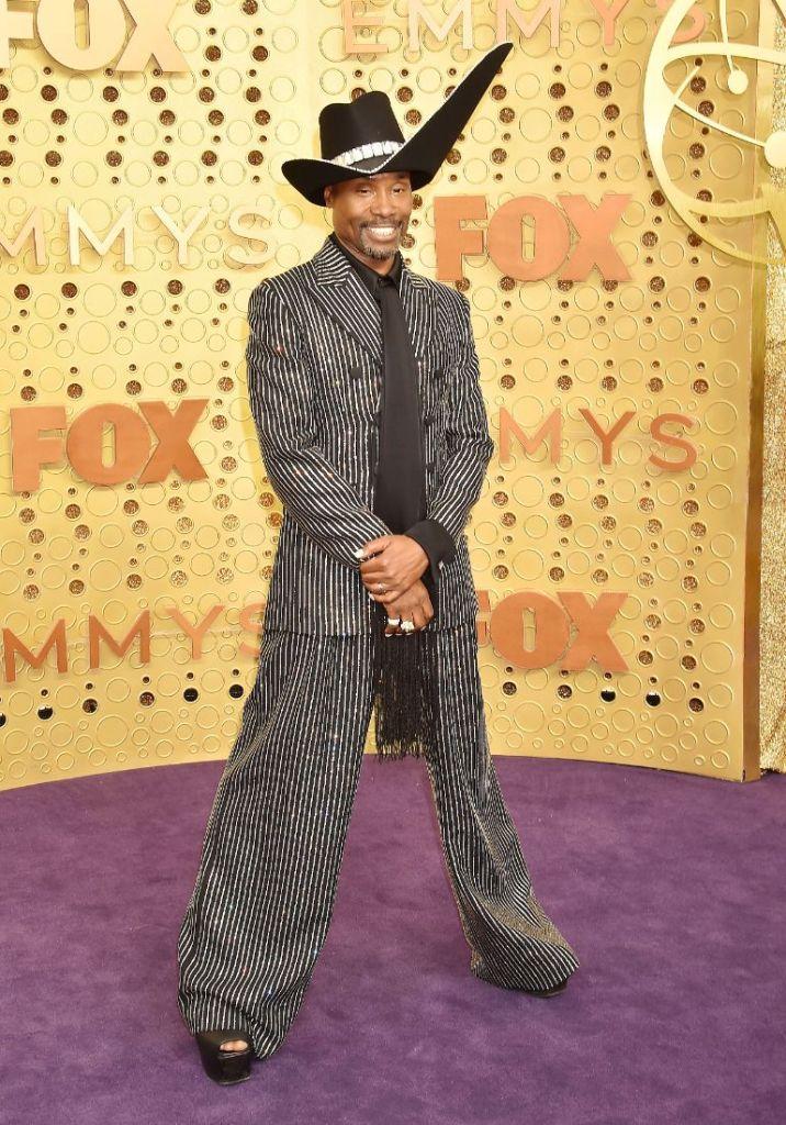 emmy awards, emmys, style, red carpet, billy porter