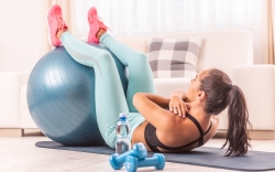 exercise ball, workout