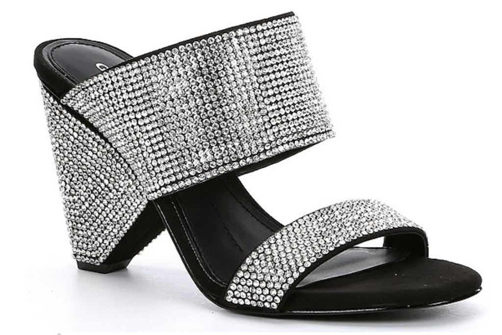 glittering heels, sandals, shoes, rhinestone, gianni bini