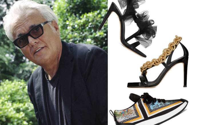 giuseppe zanotti, giuseppe zanotti shoes, spring 2021, mfw, milan fashion week