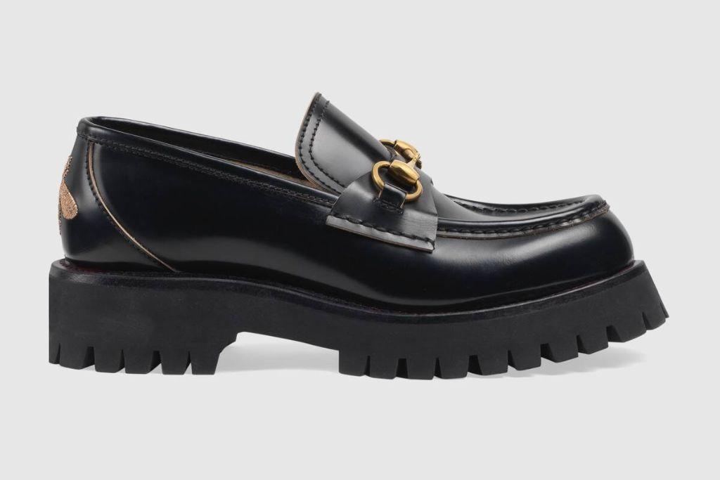 gucci, gucci loafer, gucci lugsole, gucci socks, socks and loafers, white sock trends, socks, gucci shoes