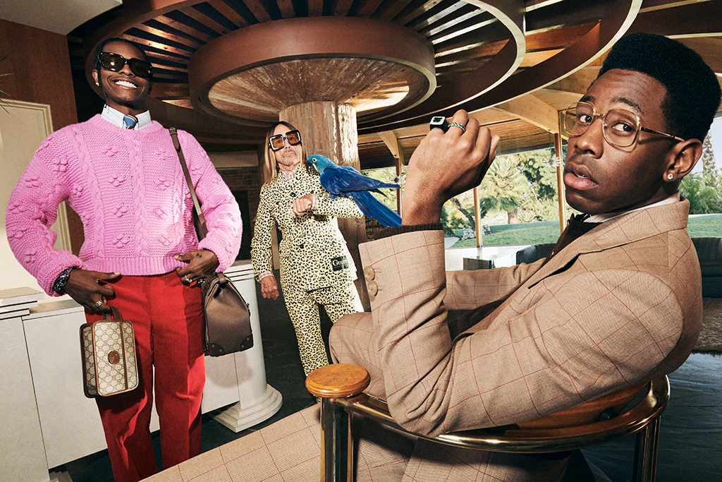 Gucci, men's tailoring campaign