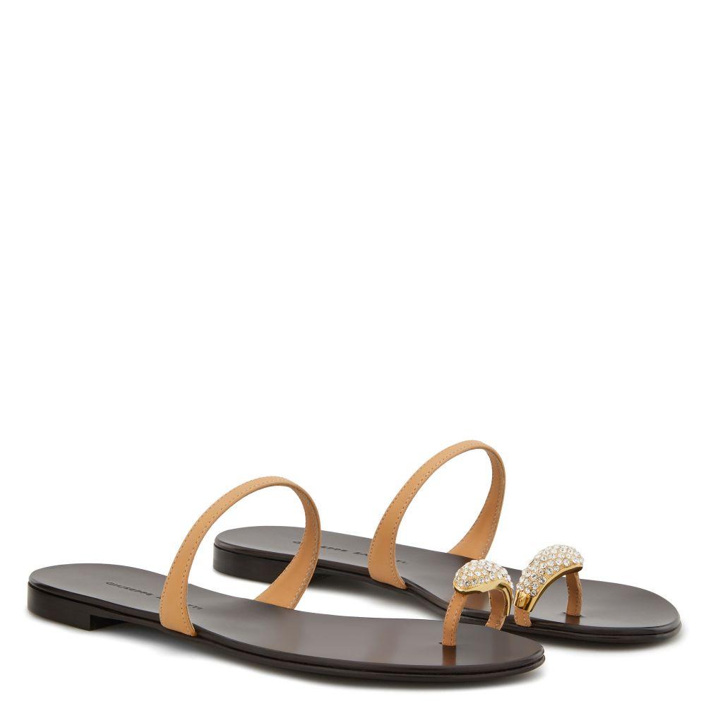 big-toe sandals