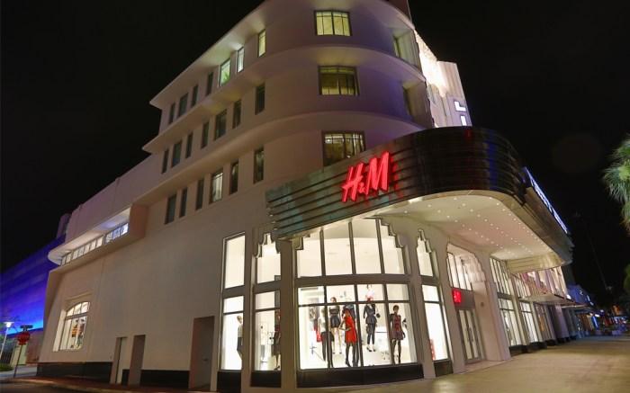 H&M Store Miami USA