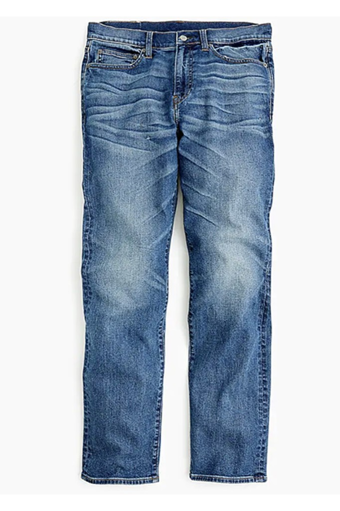 j. crew jeans, best jeans for men, mens jeans