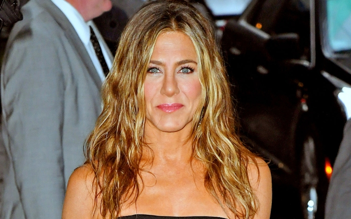 jennifer aniston, style, dress, heels, emmys