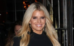 jessica simpson, style, boots, skinny jeans