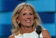 Jill Biden Gets Out the Vote in Statement Boots Again