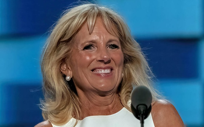 Dr. Jill Biden Speaking At The Democratic Convention