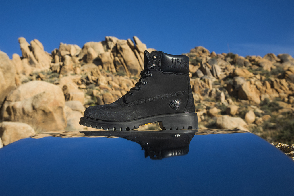 Jimmy Choo x Timberland Black Boot