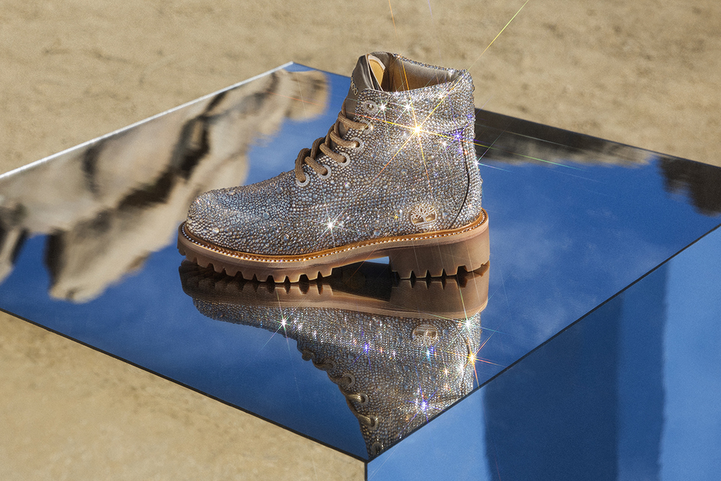 Jimmy Choo Timberland Swarovski boot