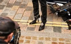 A still from Jimmy Choo's autumn/winter