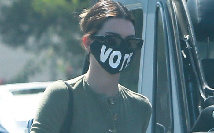kendall-jenner-vote-mask-style