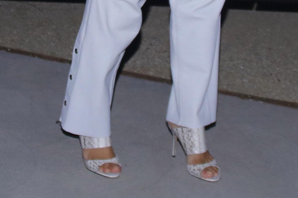 kim kardashian, mesh shirt, chaps, leather pants, white, jeans, heels, snakeskin