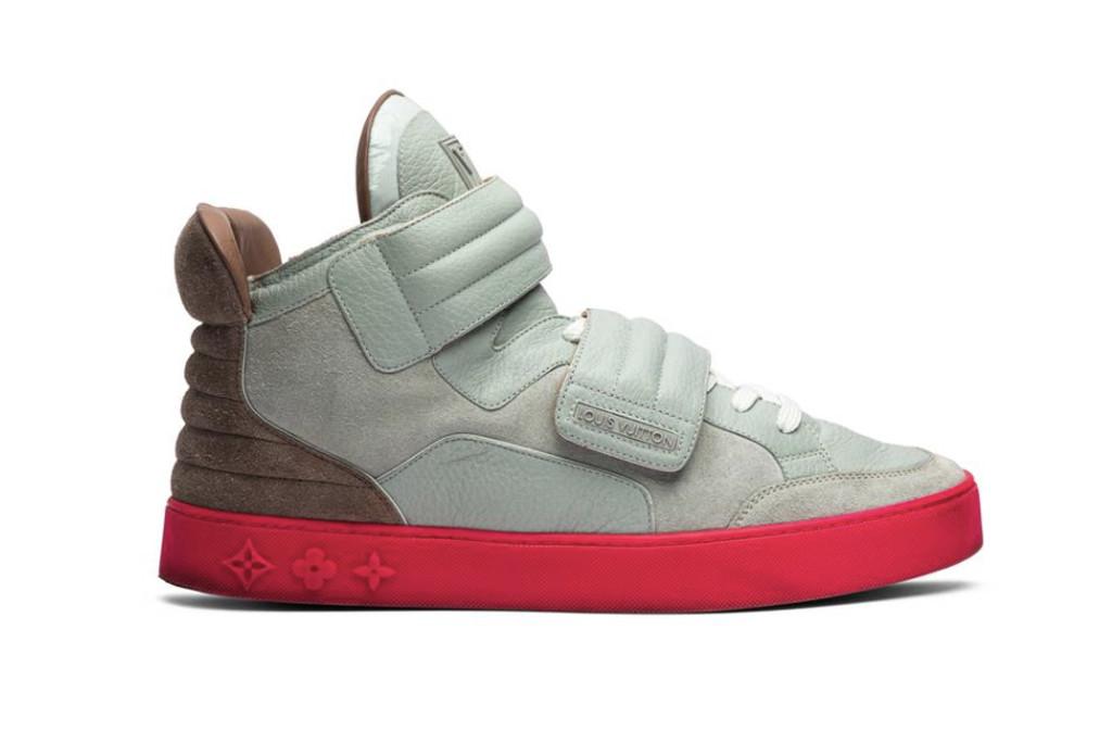 louis vuitton x kanye west jasper, louis vuitton sneaker, kanye west sneaker