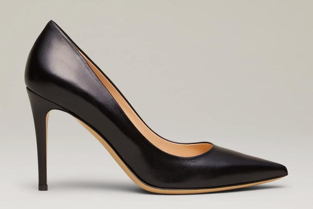 black pumps, heels, pumps, shoes, m.gemi