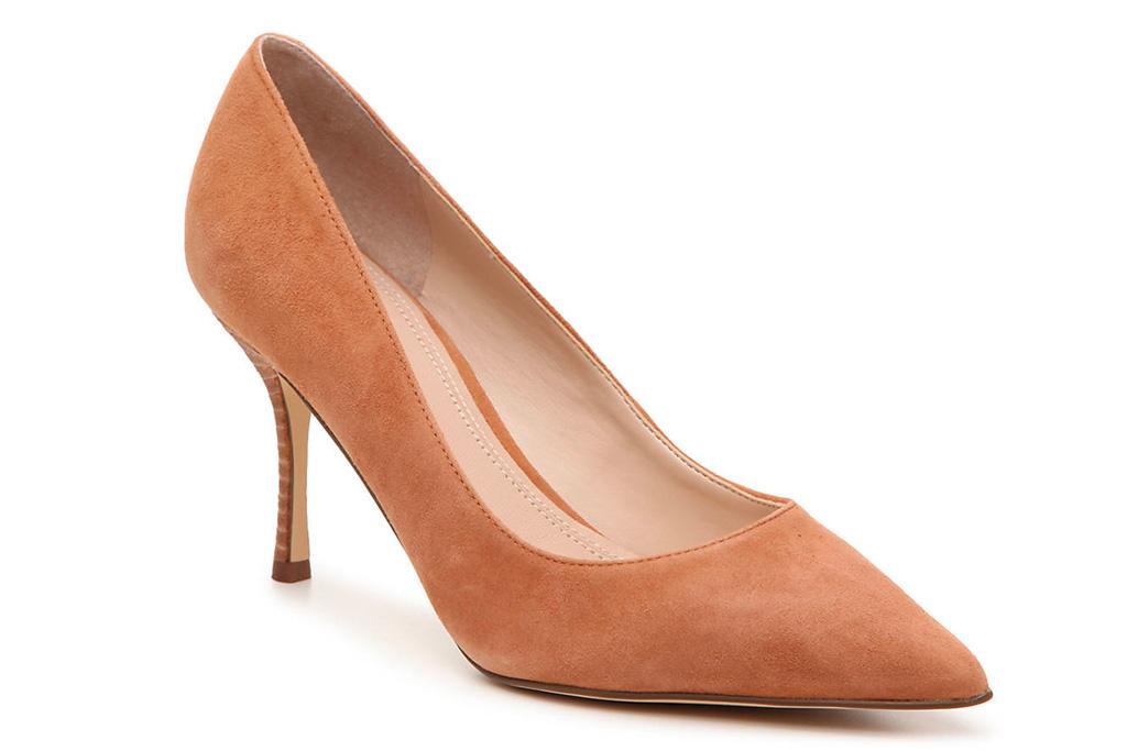 brown suede, pumps, suede, heels, marc fisher