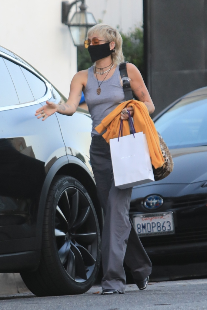 miley cyrus, boots, shoes, style, heels, pants, shirt, los angeles