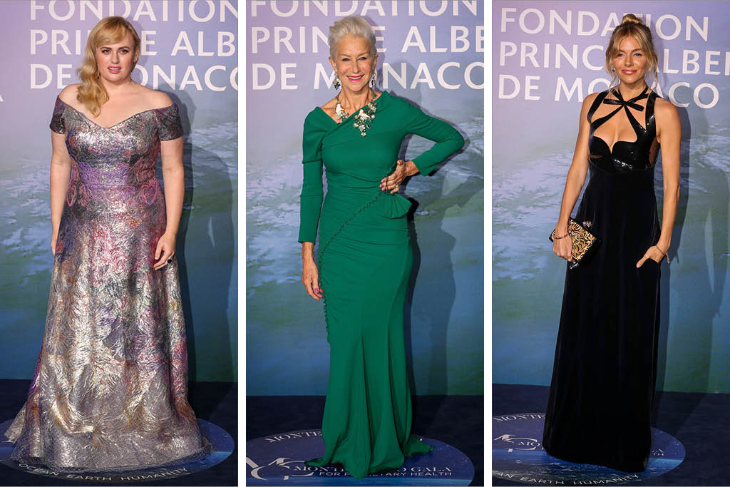 All the Red Carpet Styles at the 2020 Monte-Carlo Gala For Planetary Health