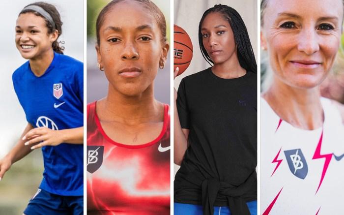 Nike Sophia Smith Marielle Hall A'ja Wilson Shalane Flanagan