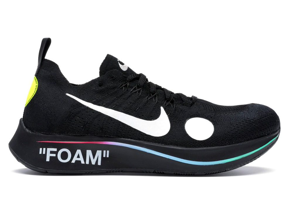 nike, off-white, zoom fly, Nike Zoom Fly Mercurial, sneakers, foam