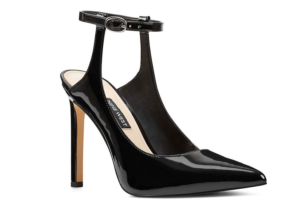 jessica simpson, heels, black pumps, nine west
