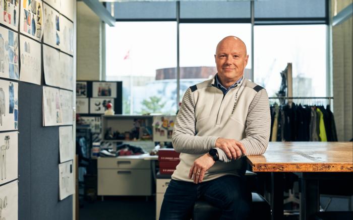 Under Armour CEO Patrik Frisk