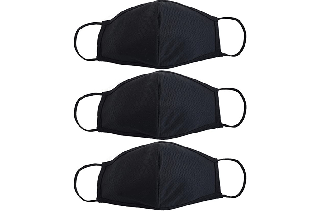 polyester face mask, amazon face mask, polyester face mask pack