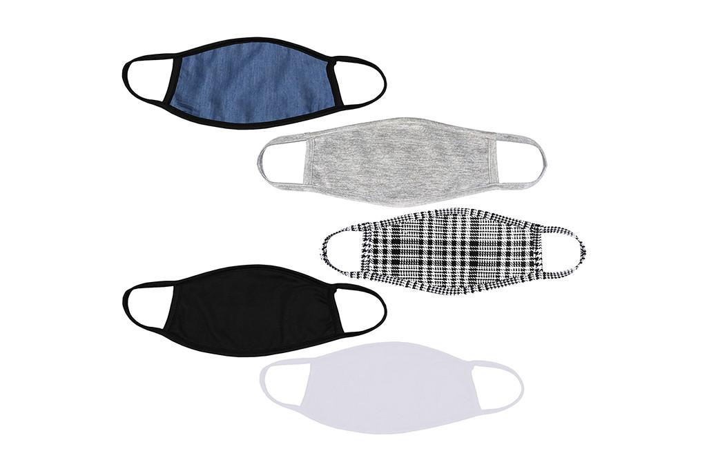 polyester face mask, patterned face mask, face mask