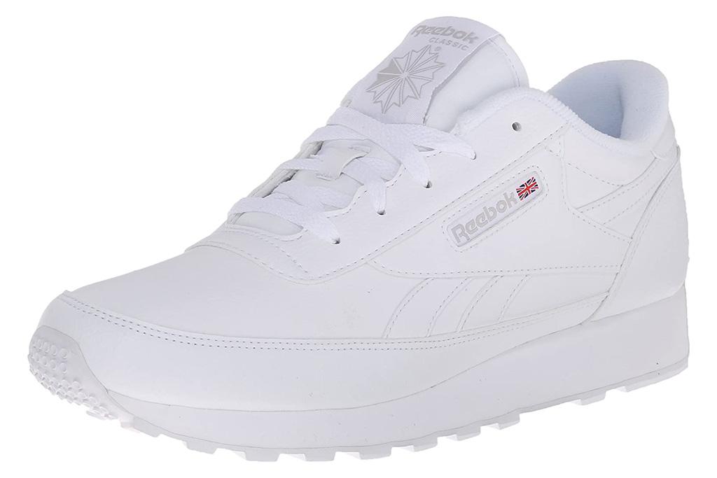 reebok, sneakers, renaissance, white, classic