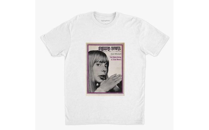rolling stone shop, joni mitchell rs cover t-shirt, rolling stone t-shirt