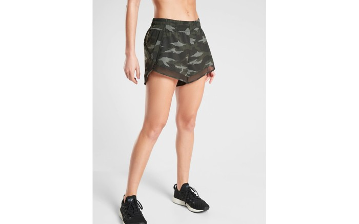 best running shorts for women, athleta shorts, camo shorts