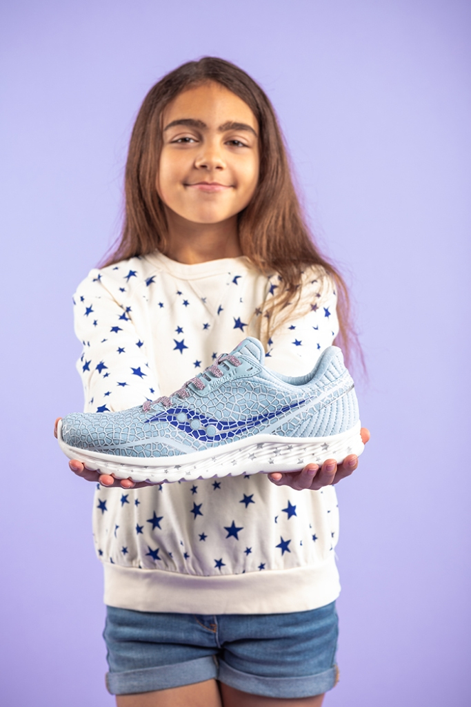 saucony, boston childrens hospital, sneakers