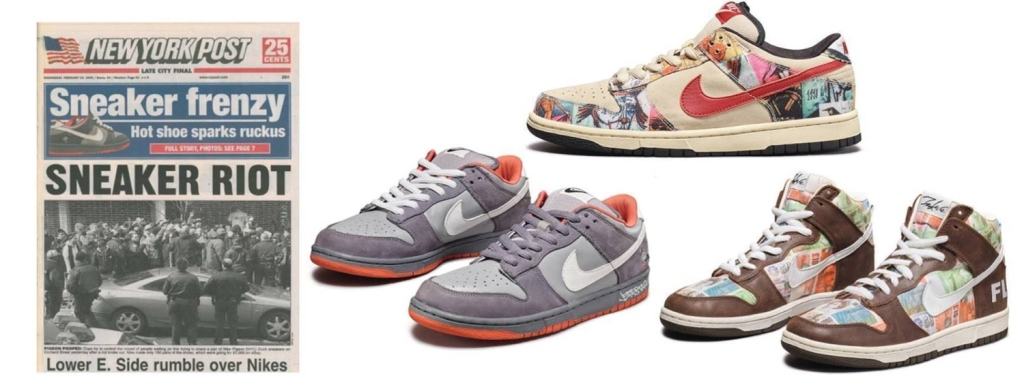 sotheby's, sneakers, cult canvas, nike, rare, buzzy
