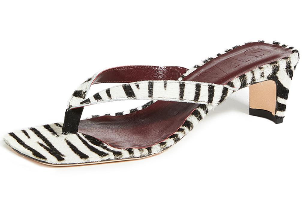 sandals, heels, animal print, black white, cheetah, zebra