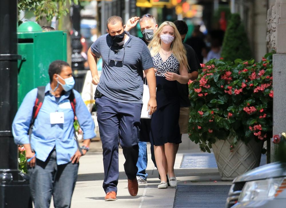 tiffany trump, loafers, new york, dress, style, city, mask