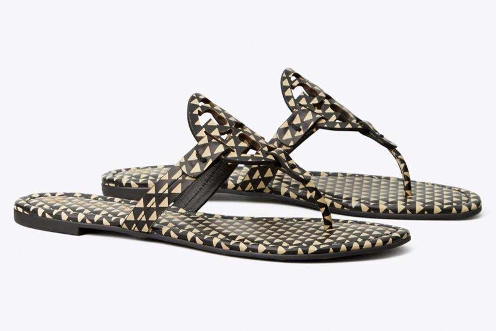 tory burch, flip flops, miller, sandals, thong sandals, tory burch sale