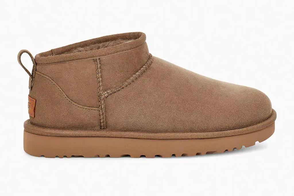 ugg, mini boots, classic, short, brown