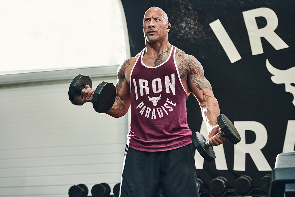 Under Armour Project Rock Iron Paradise Tank