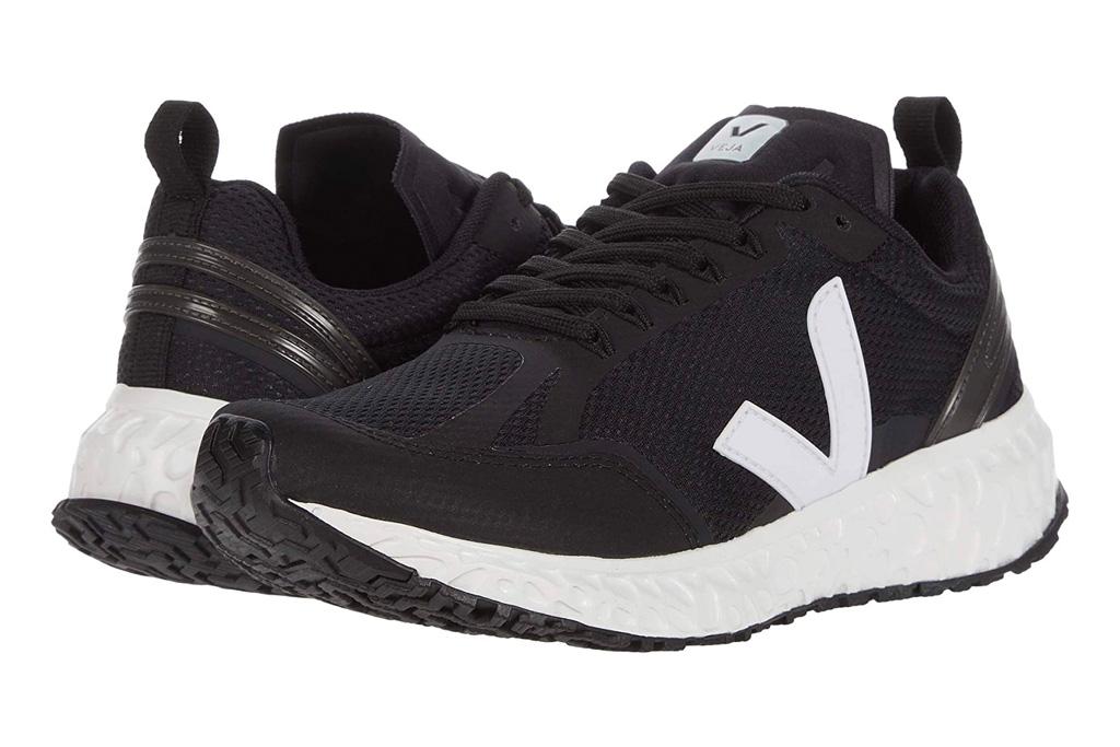 sneakers, black, white, workout, veja