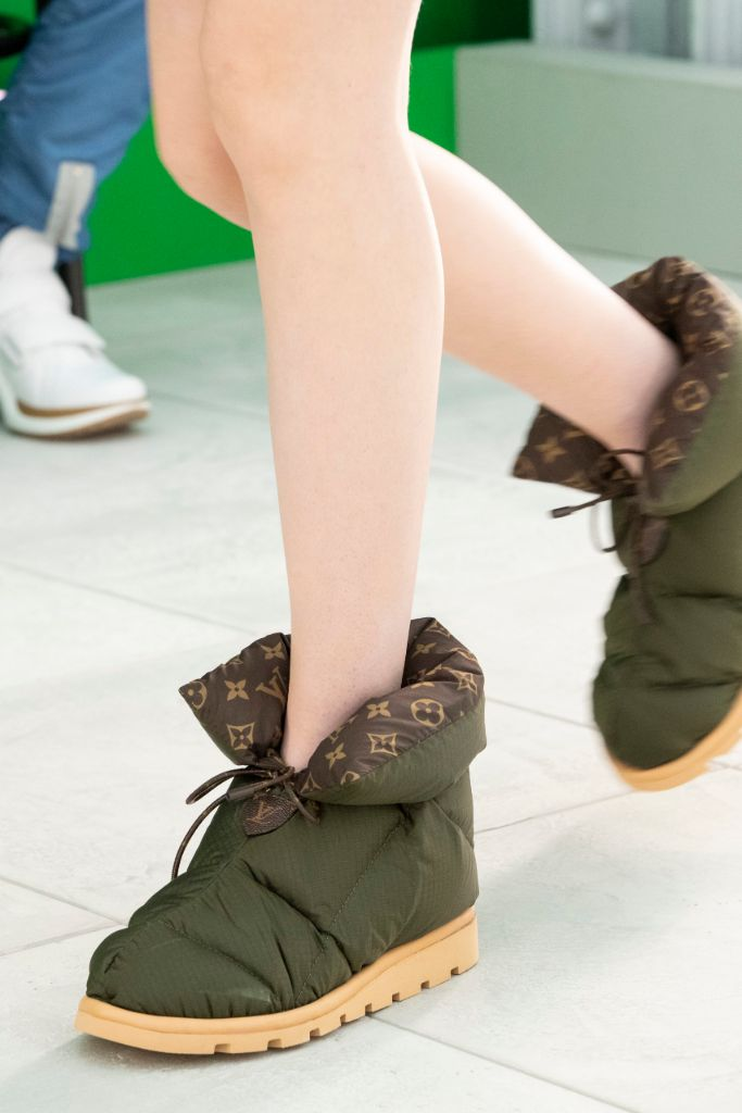 louis vuitton, louis vuitton spring 2021, spring 2021, pfw, paris fashion week, vuittton boots
