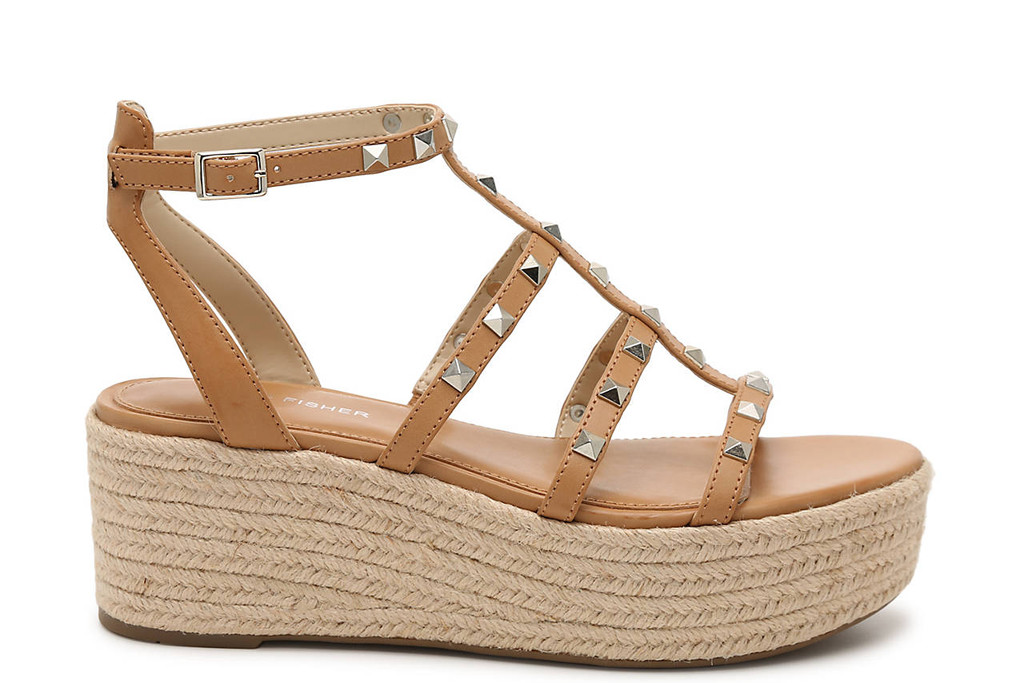 studded sandals, marc fisher, studded espadrilles