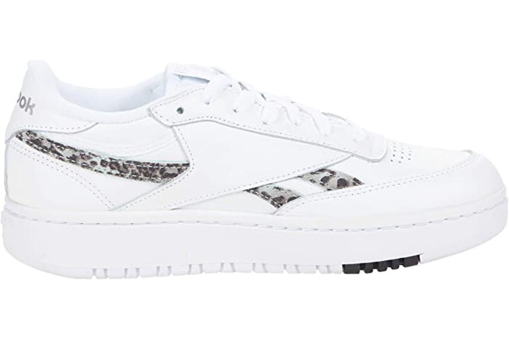 reebok sneakers, leopard sneakers, white chunky sneakers