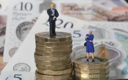 Gender pay gap. File photo dated