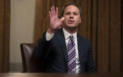 Walmart CEO Doug McMillon speaks during