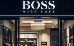 German clothing brand Hugo Boss logo