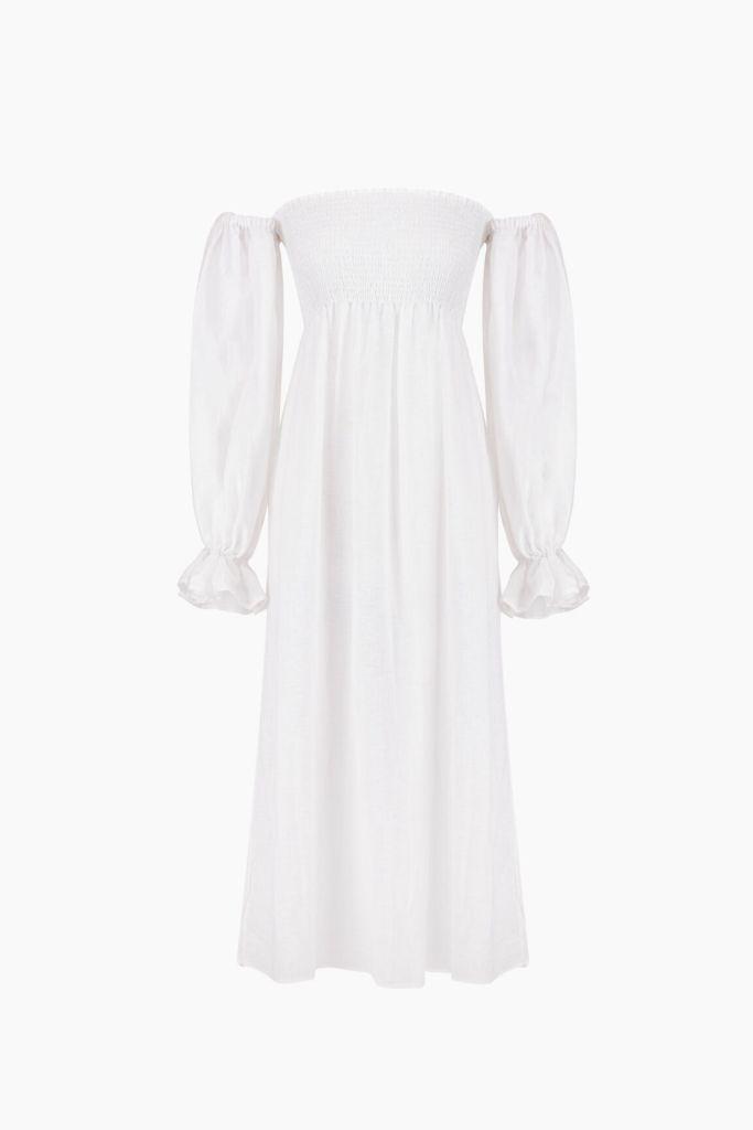 sleeper, daily sleeper, atlanta linen dress, linen dress, spring 2021, spring 2021 trends, mfw, milan fashion week, nap dress