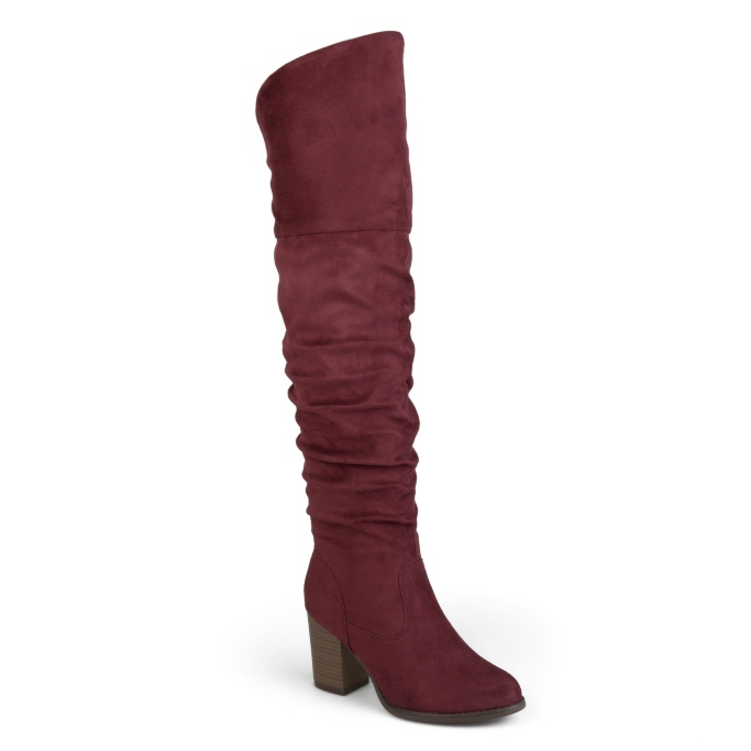 Brinley Co. Wide Calf Over-The-Knee Boots